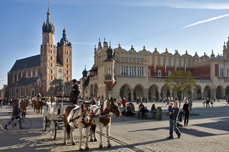 Old Town Square in Cracow